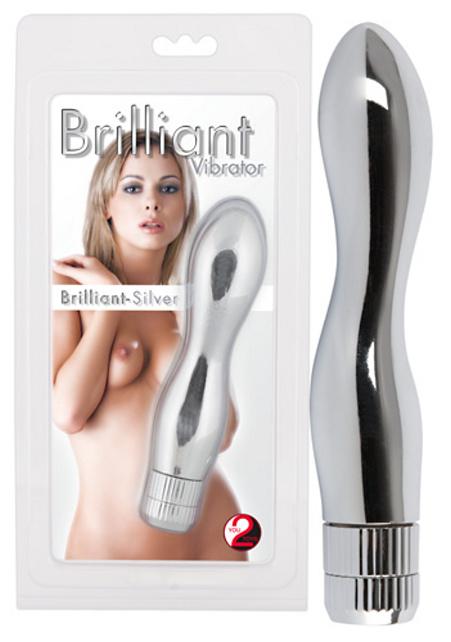 Brilliant Vibrátor Silver - vibrátor