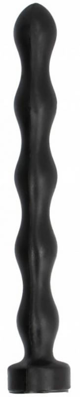 All Black Anal Plug Ball 32cm