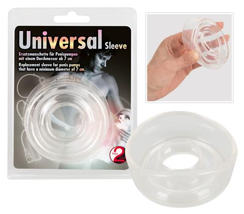 Universal Sleeve Big-transparentní náhradní manžeta