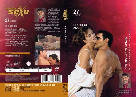 Erotické sny - Škola sexu DVD 27