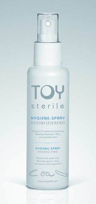 Čistící sprej na erotické pomůcky Toy Sterile 200 ml