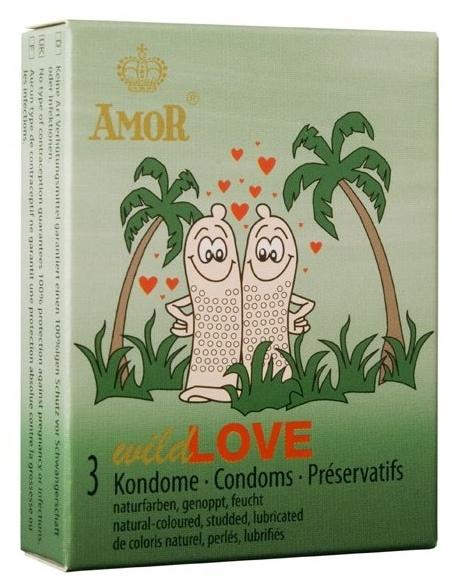 AMOR wild Love 3 pcs pack