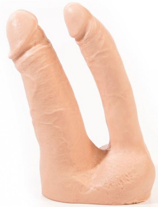 Arthus Realistic Double Dildo Flesh 17cm