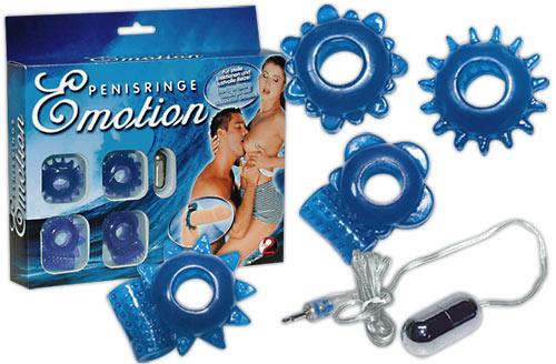 Kroužky na penis k stimulaci obou partnerů
