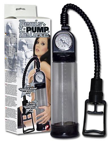 Penispump Deluxe mit Druckmess