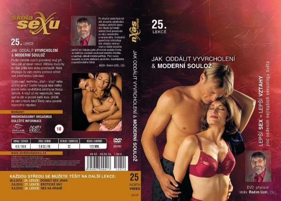 Jak oddálit vyvrcholení a Moderní soulož-Škola sexu DVD 25