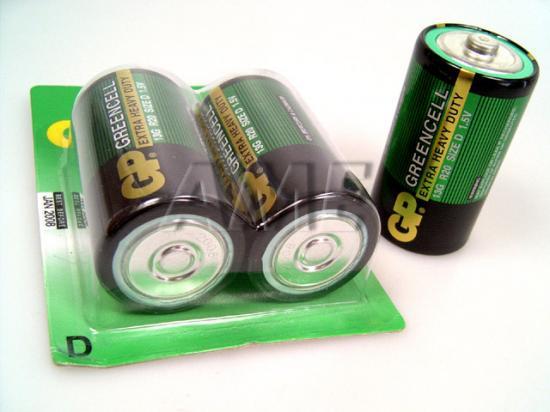 Baterie silné monočlánky LR20