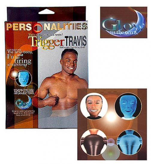 Nafukovací panákTrigger Travis