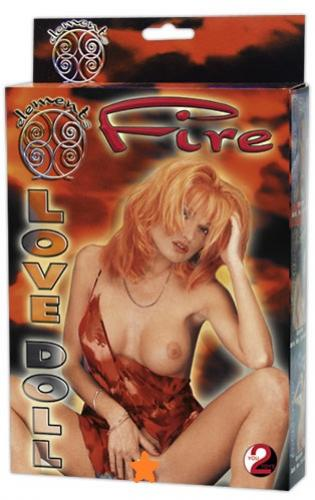 Fire Love Doll - nafukovací panna