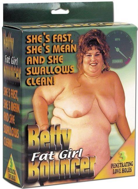 Betty Fat Girl Bouncer doll