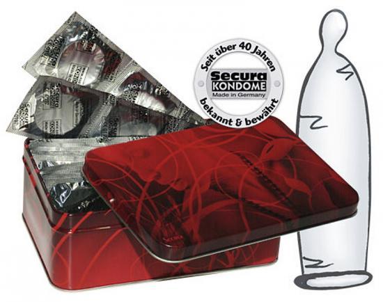Secura Transparent 50pcs