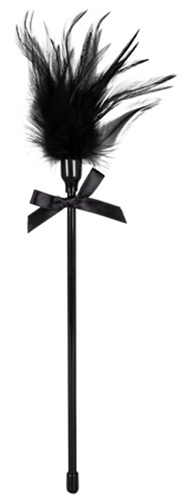 Feather on a Wand black