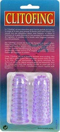 Sada dvou gelových dráždivých návleků na prsty