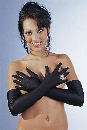 Handschuhe schwarz S-L
