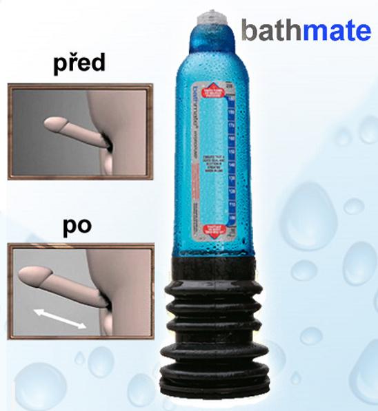 Vakuová pumpa Bathmate Blue