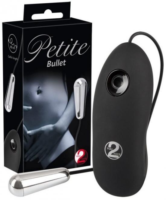 Petite Bullet - vibrační tělísko s dálkovým ovládáním