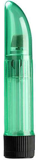 Crystal Clear Vibrator Green