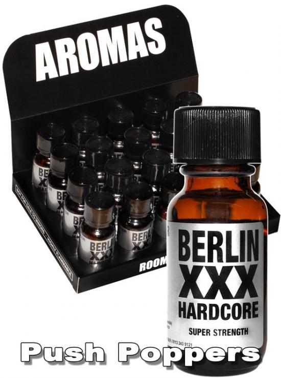Berlin XXX Hardcore Poppers 25ml
