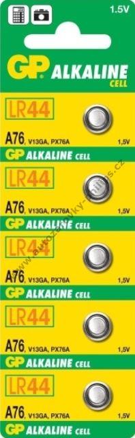 Alkalická baterie knoflíková AG13,LR44