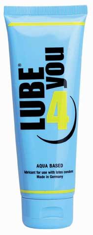 Lubrikant LUBE 4 YOU 100ml na bázi vody