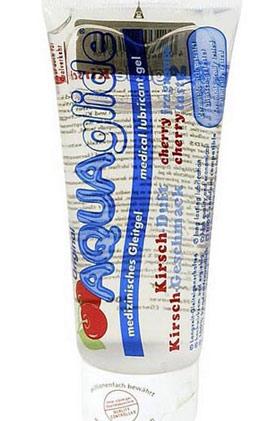 AQUAglide višňový-lubrikant s chutí višní