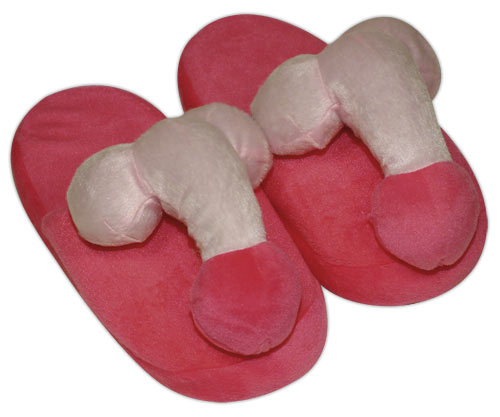 Papuče s plyšovými penisy,vel. 37až 40
