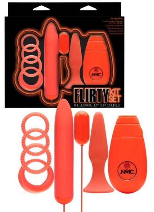 Sada erotických pomůcek Flirty Kit Set