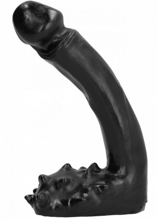 All Black Dildo 19cm
