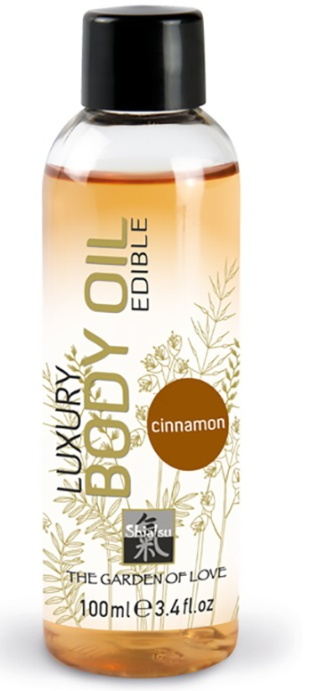 luxury body oil - cinnamon 100 ml