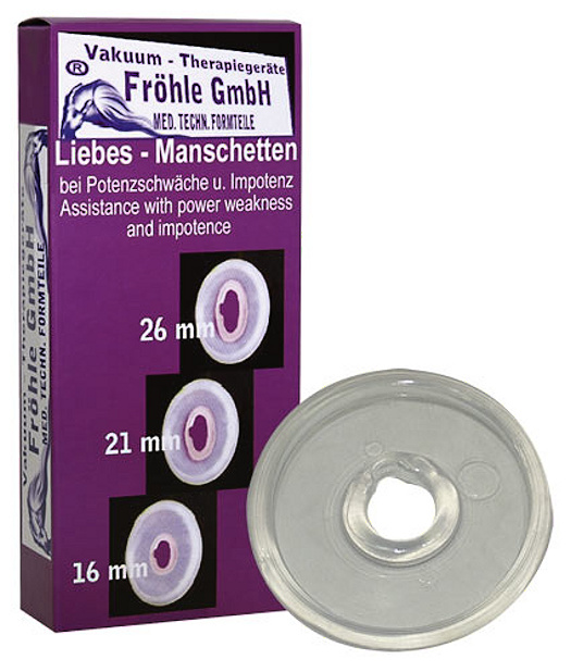 Manžeta Fröhle Liebes-Manschetten pro pumpy na penis zn. Fröhle