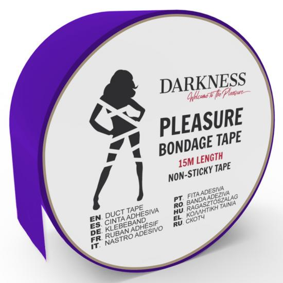 Darkness Non Sticky Tape Purple 15m