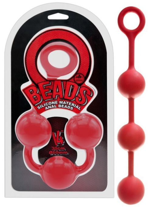 O Beads Giant Balls red