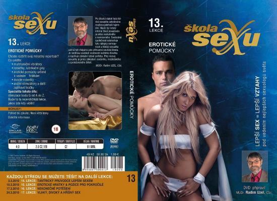 Erotické pomůcky - Škola sexu DVD 13