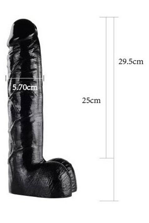 Black Go Realistic 21, 29.5cm