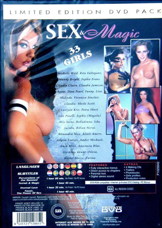 PRIVATE Sex Magic 4 disc