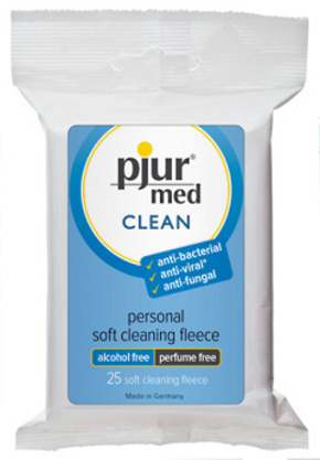 Pjur med Clean Fleece 25 ks