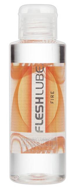 Fleshlube Fire na vodní bázi s hřejivým účinkem 100 ml