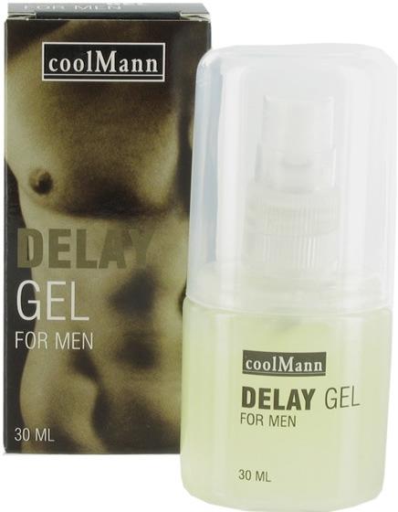 Delay gel Cool Mann pro muže na oddálení erekce 30 ml