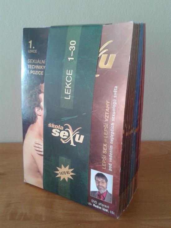 Škola sexu 30 DVD č.1-30