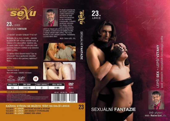 Sexuální fantazie - Škola sexu DVD 23