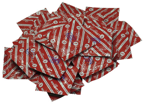 Durex London Rot 100 ks