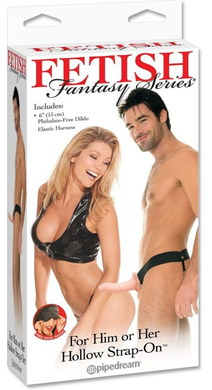 Fetish Fantasy Hollow Strap-On flesh