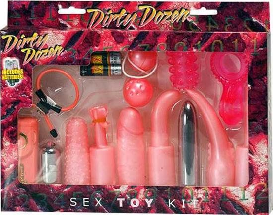 DIRTY DOZEN TOY KIT PINK