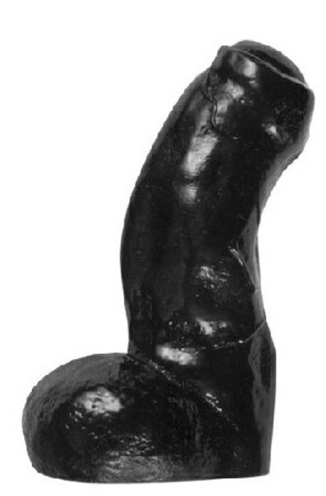 Dildo All Black 17 x 5 cm