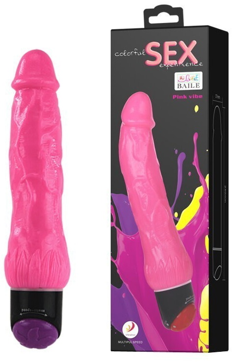 Colorful Sex Experience Pink Vibe