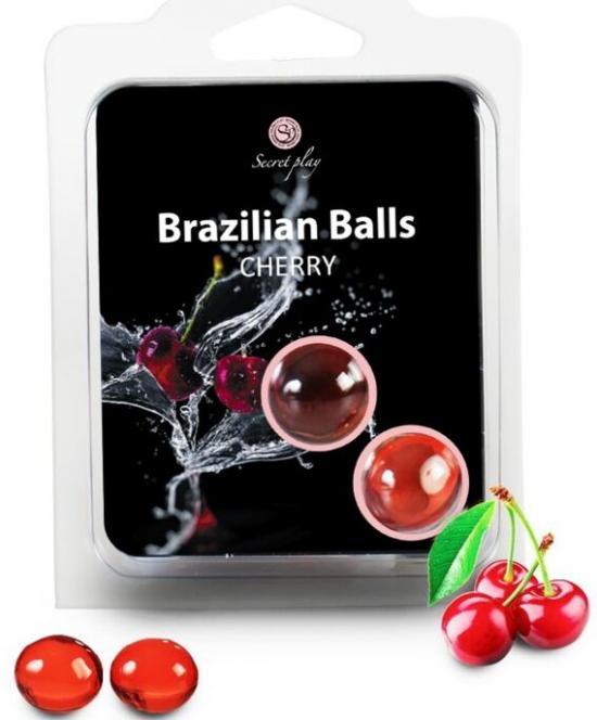 2 Brazilian Balls Cherry