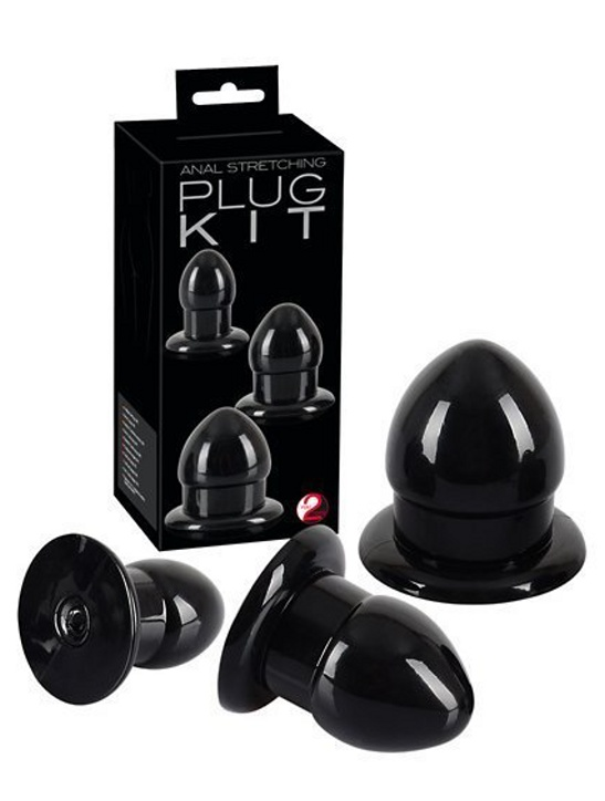 Anal Stretching Plug Kit