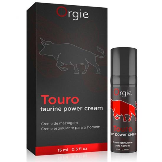 Orgie Touro Erection Cream s Taurinem 15 m