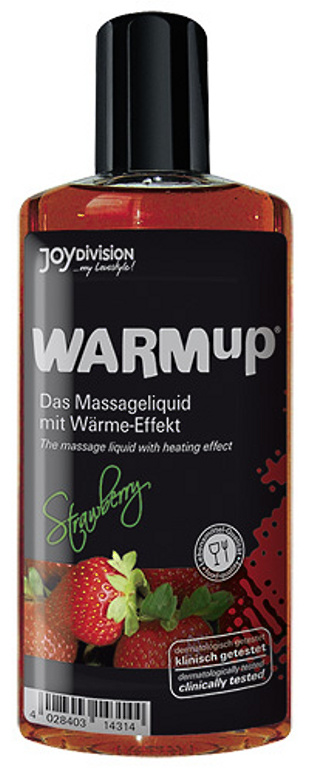 Joydivision WARM Up Jahoda 150ml