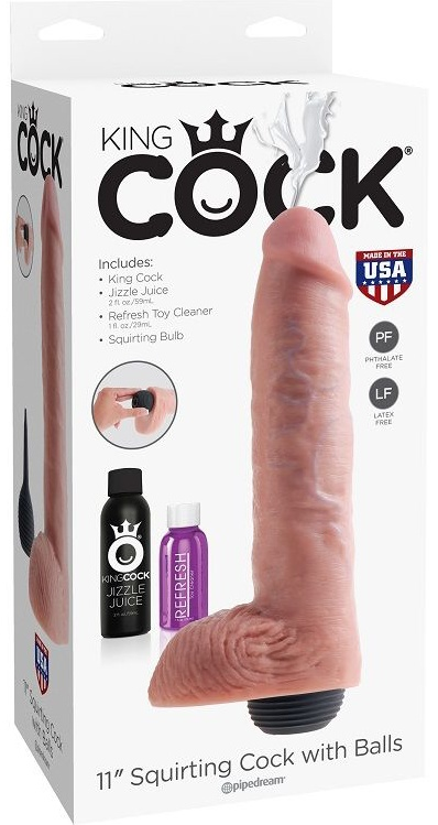 """King Cock Squirting Flesh 11"""""""